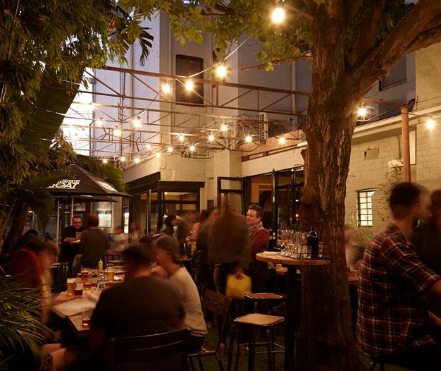 The Empress Hotel – Beer Garden