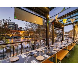 Hophaus Bier Bar & Grill – Southbank, with City Views