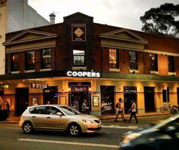 Cooper's Hotel – Inner City Suburbs Pub Functions