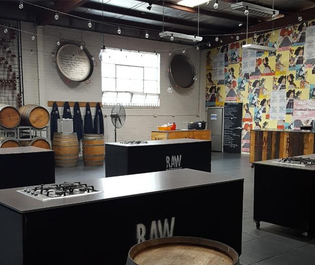 Raw Materials – The Studio