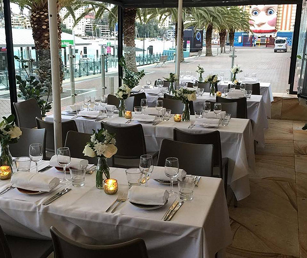 Ripples Milsons Point – North Sydney Private Dinner Functions