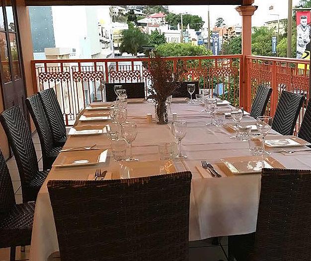 The Balcony Restaurant Upstairs