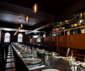 Wild Ginger Dining + Bar – Harbour Views